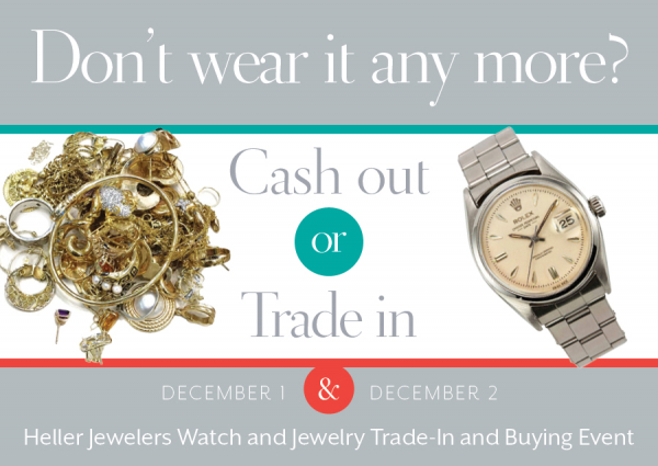 Watch and Jewelry Trade-In And Buying Event