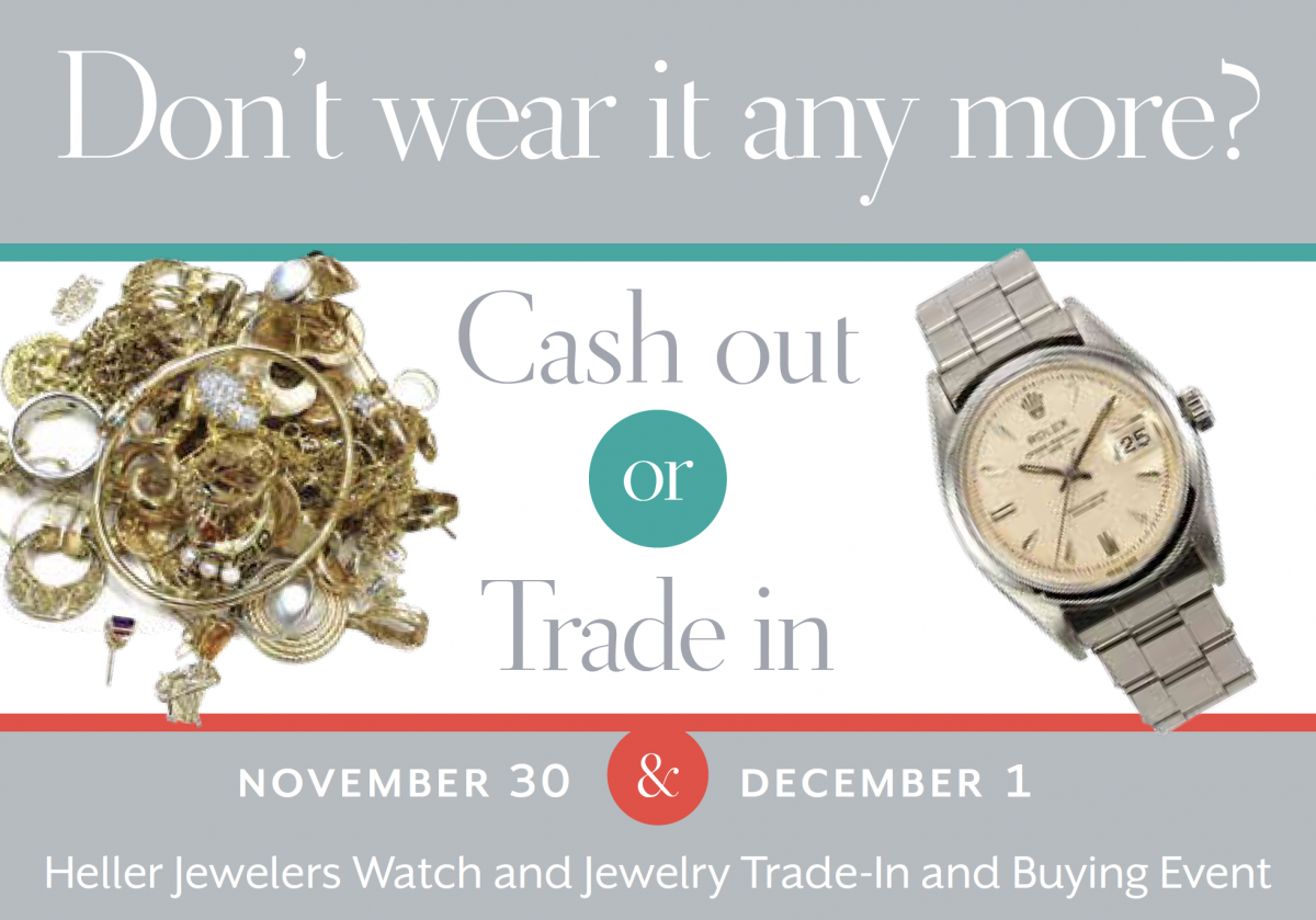 Watch and Jewelry Trade-In And Buying Event 2018